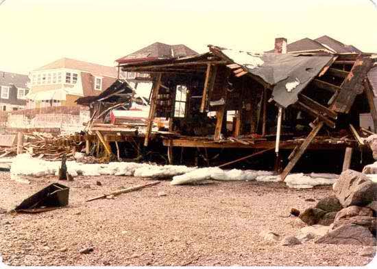 Storm Surge from the Blizzard of 1978
