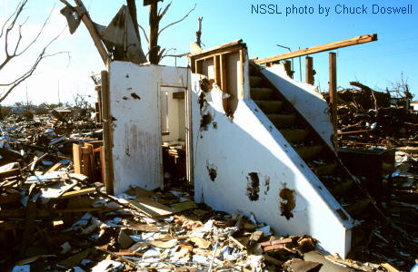 Staircase Survives a Tornado