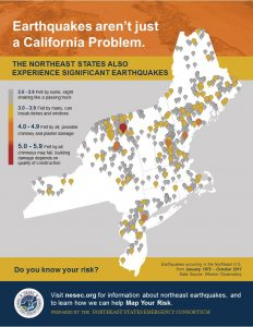 Earthquakes Hazards : Northeast States Emergency Consortium